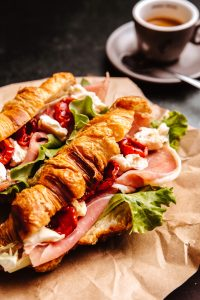 Croissant Sendvič